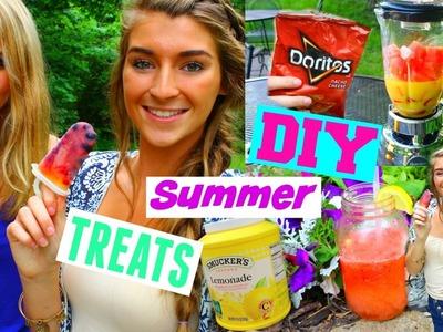 DIY Summer Treats & Drinks!