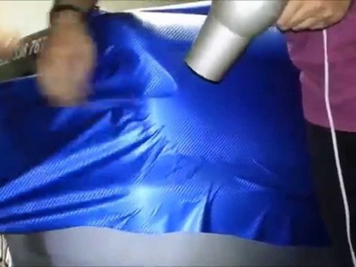 Do it Yourself (DIY) Car Wrapping: Applying vinyl wrap 5.13 (first time)