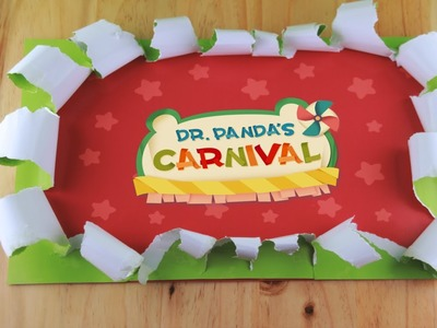 Dr. Panda's Carnival - A Papercraft Inspired World!