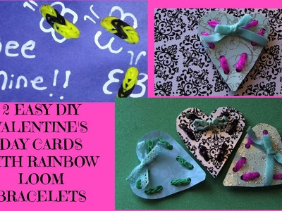 EASY RAINBOW LOOM VALENTINES DIY