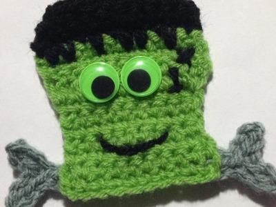 How To Crochet A Frankenstein Applique For Halloween - DIY Crafts Tutorial - Guidecentral