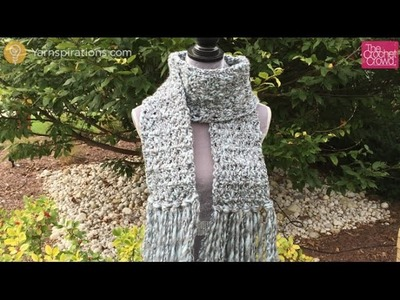 How to Crochet Icy Scarf