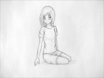 How to Draw Manga: Sitting Pose