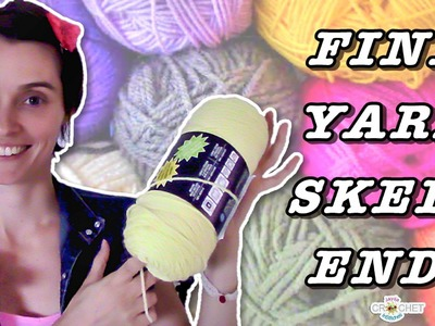 How To Find Yarn Skein Ends - Crochet Quick Tip!