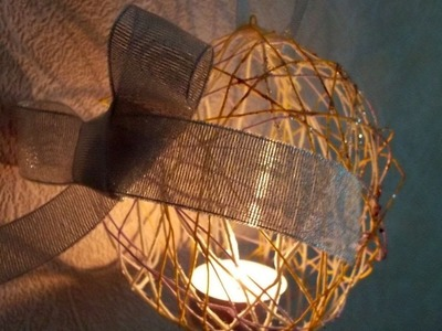 How To Make A Candle Holder From Rope - DIY Home Tutorial - Guidecentral