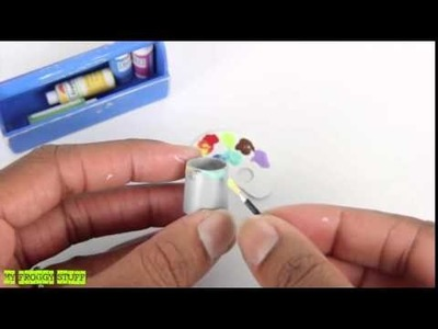 How to Make a Doll Caddy   Horse Grooming, Cleaning and Art Supplies