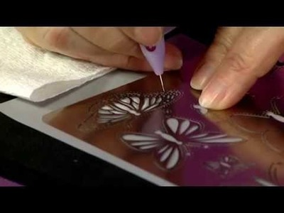 How to Make a Parchment Butterfly Brooch with Rossella Cottrell | Craft Academy