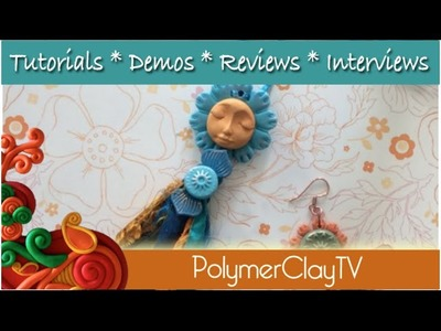 How to make an Angel Tassel and earrings with polymer clay
