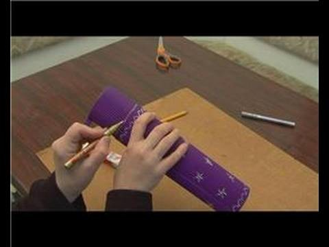 How to Make an Upside Down Telescope : Upside Down Telescope: Measure & Mark Points of Distance