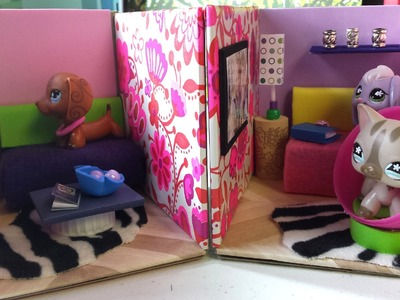 How to Make Cute LPS Living Rooms: Dollhouse DIY