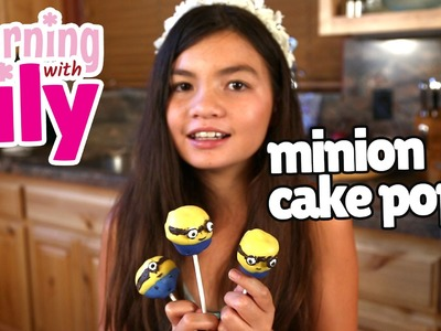 How to make Minion Cake Pops with Kids Using This Simple Recipe - Learning with Lily