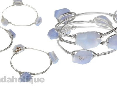 How to Make Wire Wrapped Bangles