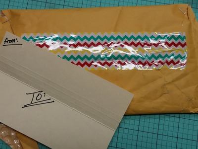 How to Reshape & Reuse Padded Envelopes for Pocket Letters