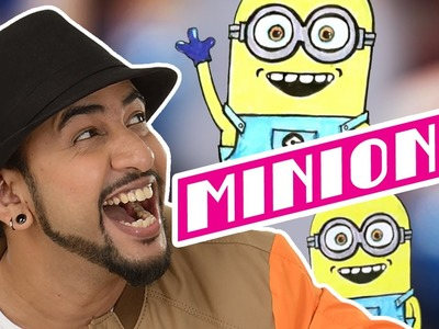 Mad Stuff with Rob – How to draw a Minion | DIY Drawing for children