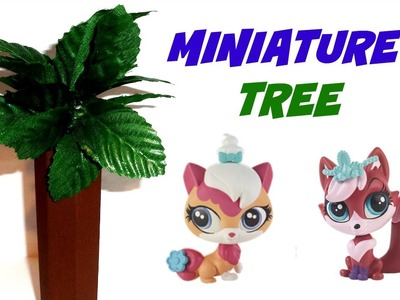 Miniature Doll Tree Tutorial - Dollhouse DIY