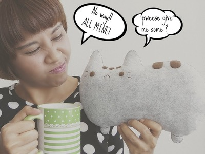 My BIG Little Pusheen Cat Plushie Update