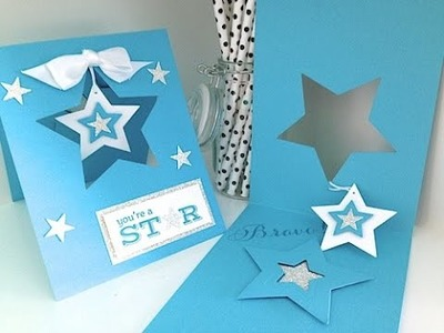 Simply Simple Now or WOW - You're a Star Glimmer Card by Connie Stewart