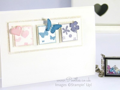 South Hill Designs & Stampin' Up! Sunday Soft Subtle Card and Locket