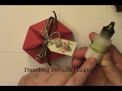 Stampin' Up! 6-Panel Mini Milk Carton Box with Dawn O