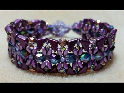 (Tutorial) Dancing Dragonflies Bracelet DIY (Video 142)