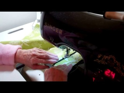 3. Making a Charming Tote. Purse with Zipper Part 3