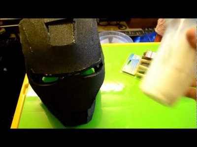 4 - (Sealing the foam, part 1) Foam Pepakura Iron Man Suit.Armor explanation