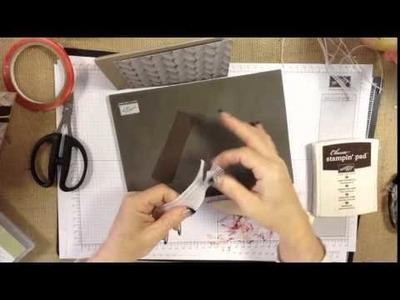 Adventure Bound Designer paper - Card tutorial
