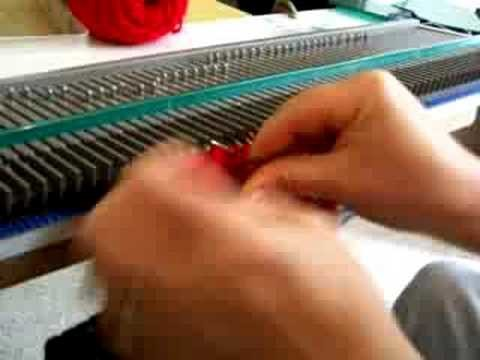 Back Stitch Bind Off Demo