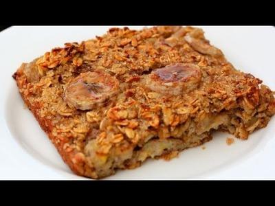 Baked Banana Oatmeal - Clean & Delicious® Recipe