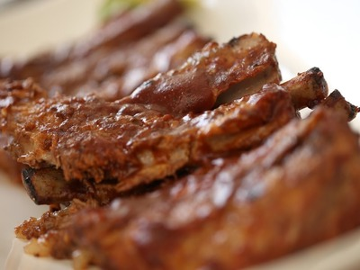 BBQ Baby Back Ribs Ultimate Grill Recipe || KIN EATS