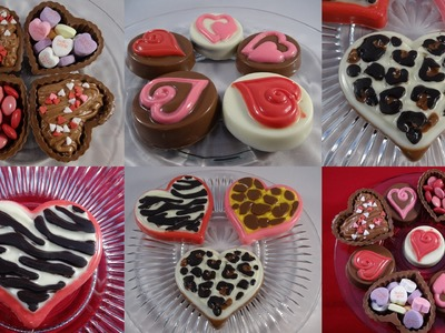 Candy Melt Demo #11: 3 Wilton Valentine's Day Molds