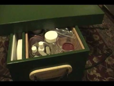 Chuck Box version 2 (camp kitchen box) for canoe or car camping
