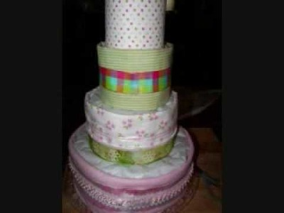Diaper Cake Complete Tutorial (all steps)