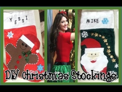 ❄ DIY Christmas Stockings ❄