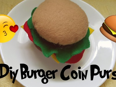 Diy | Coin Burger Purse