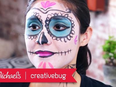 DIY Dia de los Muertos Face Paint | Michaels & Creativebug