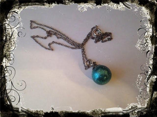 DIY Ender Pearl Necklace
