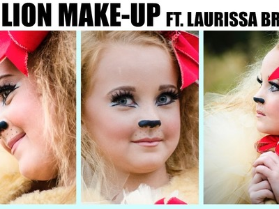 DIY Lion Make Up for Halloween!
