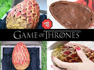 DIY :: Ovo de Dragão DE CHOCOLATE - Game Of Thrones | Dragon Egg | Páscoa Geek | Easter