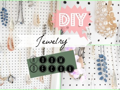 DIY Room Decor 2015 | Jewelry Organizer