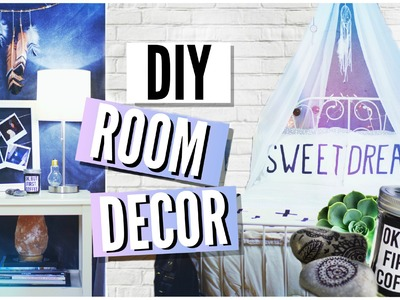 DIY ROOM DECOR  | Tumblr Room Makeover! 2015