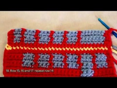 How To Crochet A Cute Double-Decker English Bus - DIY Crafts Tutorial - Guidecentral