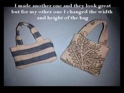 How to make- A dolls beach bag