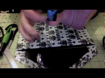 How to make a duct tape purse :) (FAST AND EASY METHOD)