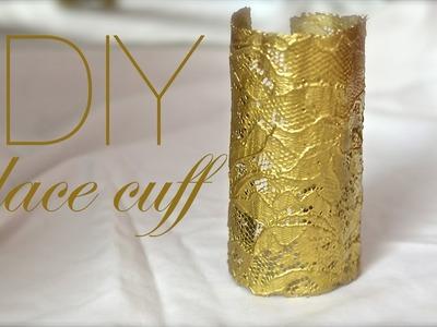 How to make a gold lace cuff!   Nik Scott