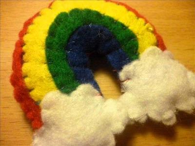 How to Make a Kawaii Rainbow Plush from Felt (Plushie Tutorial)