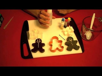 How to make Gingerbread Man Soap