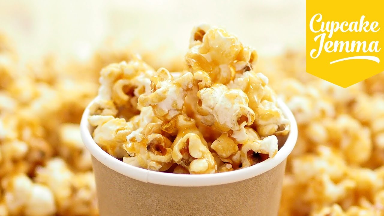 How to Make Perfect Caramel Popcorn | Cupcake Jemma