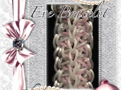 Rainbow Loom Eve Bracelet Tutorial.How To