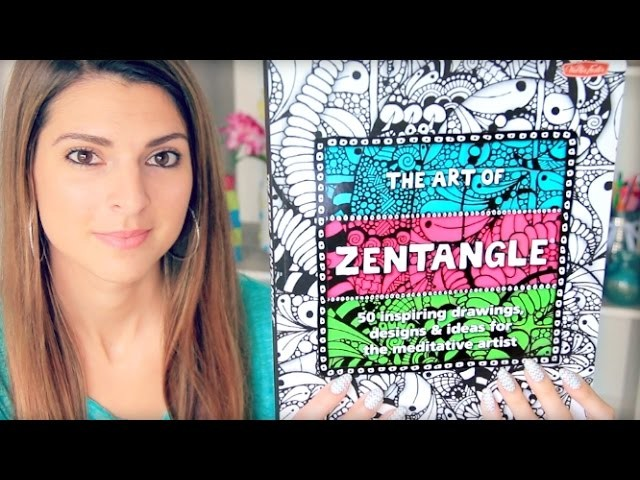 The Art Of ZENTANGLE #2 - My Drawings & Doodles!
